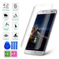 Vitre protection VERRE trempé incurvé Film protecteur d'écran Galaxy S8 Plus, S7 Edge, S6, S5, S4, S3