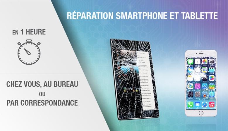 Réparation smartphone et tablette à domicile chavanoz